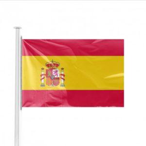 Pavillon Espagne avec Ecusson