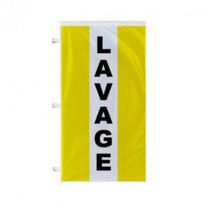 Pavillon Lavage vertical 220×120 CM