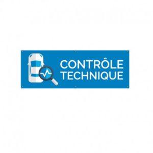 BÂCHE PVC CONTROLE TECHNIQUE
