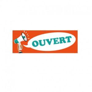 BÂCHE PVC OUVERT