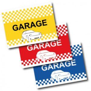 DRAPEAU DE VOITURE GARAGE FORMAT 30/45 CM