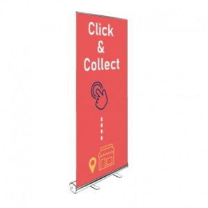 ROLL-UP CLICK & COLLECT 200x85CM