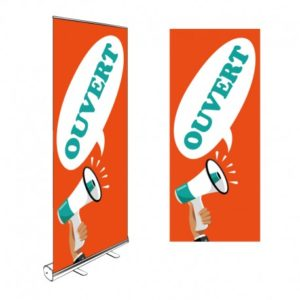 ROLL-UP OUVERT 200x85CM