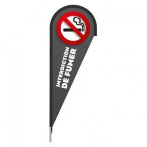 VOILE LEAF INTERDICTION DE FUMER